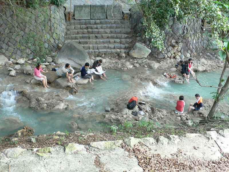 マカオ・香港・中国個人旅行のついでに寄った台湾 2008年12月