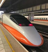 台湾新幹線 アップの写真