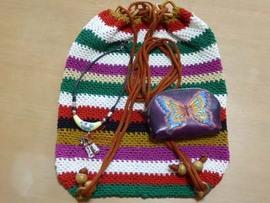 原住民後背包[原住民手作りナップサック]をとうとう手に入れた♪