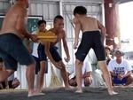 プユマ族海祭2018:お昼ご飯の後はお楽しみの相撲大会!