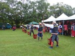 卑南族聯合年聚の弓矢競技