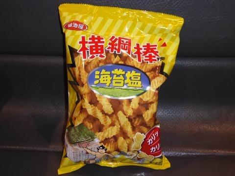 台湾でしか買えない日本メーカーのお菓子。コイケヤは頑張ってます。
