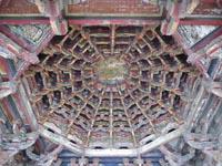 龍山寺の天井