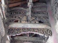 龍山寺の彫刻