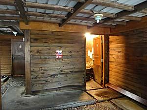 吉門蘇澳冷泉の冷熱三温暖の入口