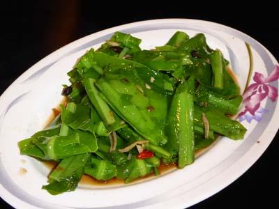 山菜の炒め物