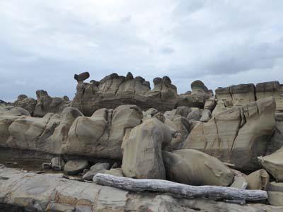 小野柳の奇石