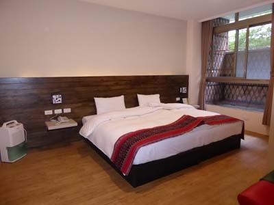 安通温泉飯店の客室