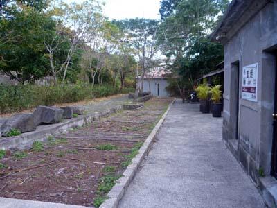 檳榔駅のホーム跡