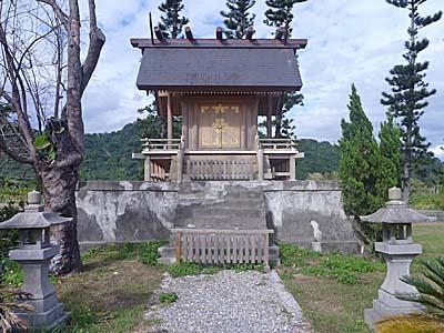 鹿野神社のお社