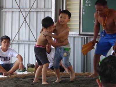 相撲大会幼児の部