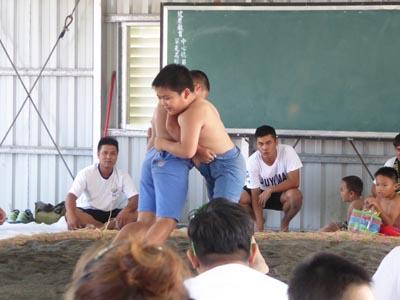 相撲大会小学生の部