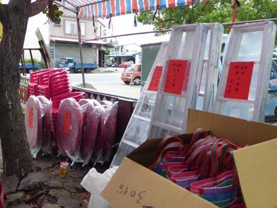 相撲大会の商品