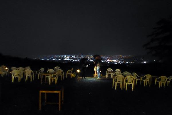 夜景とウサギが有名なカフェ